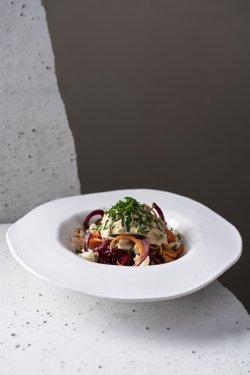Spaghette raw vegane cu tocăniță  image