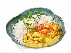 Curry thailandez de pui cu orez basmati image