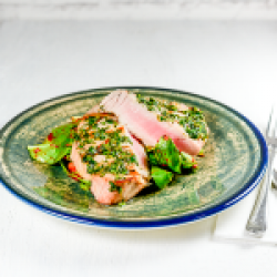 Tuna grill image