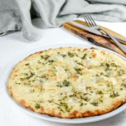 Garlic & parmigiano pita image