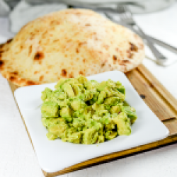 Guacamole & pita image