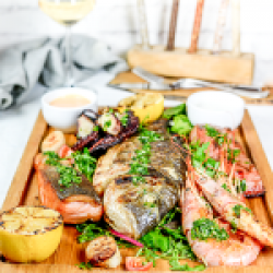 Fish board to share image
