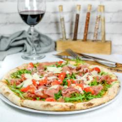 Pizza prosciutto rucola image