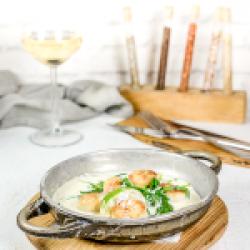 St.Jacques prossevo&garlic sauce 200 gr image