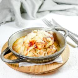 Classic beef lasagna image