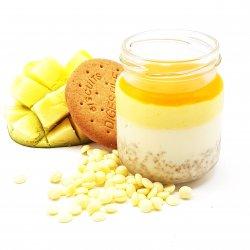 Pannacotta mango mousse pahar image