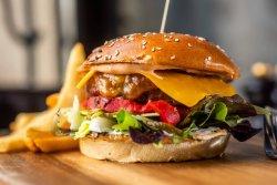 Burger aged prusiana