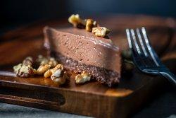Nutella cheesecake image