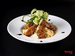 Salata Coleslaw cu pui Crispy image