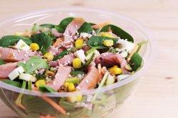 Salata cu somon afumat