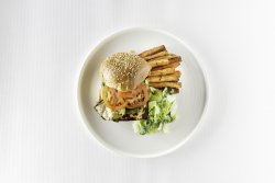 Haloumi Veggie Burger image