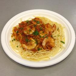 Spaghetti cu creveti