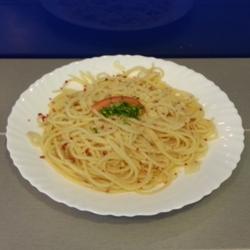 Spaghetti aglio, olio e peperoncino (picant)