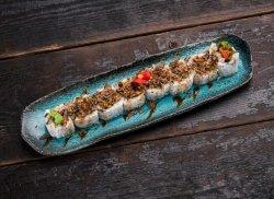 Crispy salmon roll image