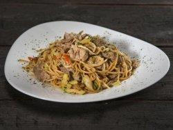 Ramen noodles cu pui  image