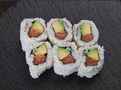 Sake avocado maki image