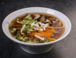 Yasai udon soup  image