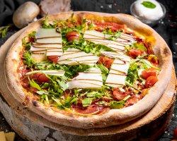 Pizza Salsicia picante image