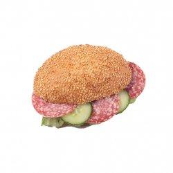 Sandwich cu salam și cașcaval - Meniu image