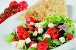 Salata Greceasca cu Focaccia image