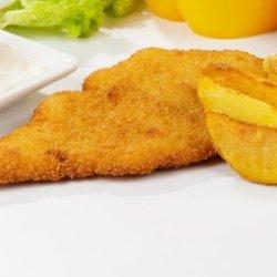 Meniu de Snitel cu cartofi wedges image