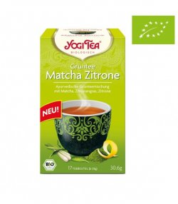 nadr-477145 ceai eco yogi cu ceai verde matcha lemongrass si lime 1.8g*17