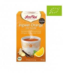 nadr-481893 ceai yogi cu ghimbir portoc si vanilie 1.8g*17