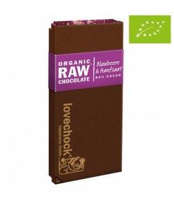 nadr-647166 ciocolata eco raw cu afine si canepa 70g