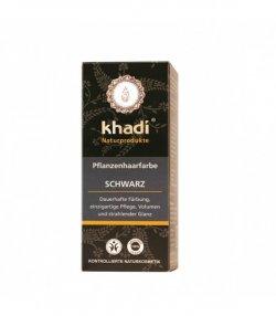 nadr-henna negru khadi-vopsea par naturala 100g