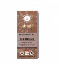 nadr-henna saten inchis khadi-vopsea par naturala 100g