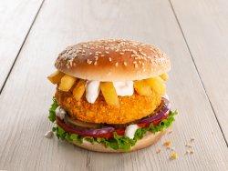 Hamburger de pui  image