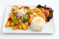 Chicken sweet & sour image