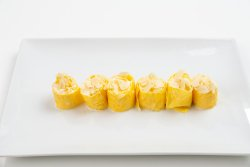 Momo dessert with banana image