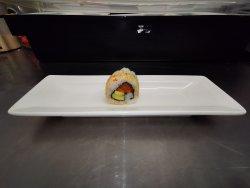 Salmon & avocado sesame maki image
