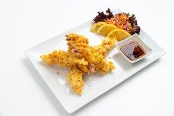 Shrimp almond tempura image