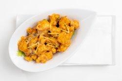 Spicy creamy shrimp mushroom image