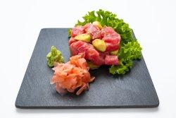 Spicy tuna avocado image