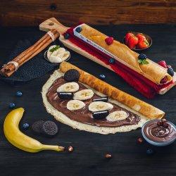 Clătită cu Nutella, banane și Oreo  image
