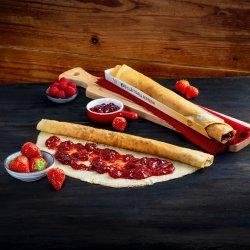 Clătită cu dulceață de căpșuni  image