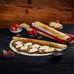 Clătită cu Nutella, banane și biscuiți  image