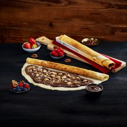 Clătită cu Nutella și biscuiți  image