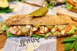 Grill Chicken Sandwich image