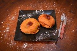 Gogoși cu gem de căpșuni image