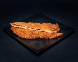 Langoși cu salam picant, ciuperci și mozzarella image