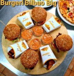 3 burgeri Bilbao Beef + 1 Burger Hot din partea casei image