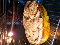 Clătite la cuptor cu spumă de ou și dulceață image