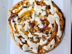 Kebab Pizza image