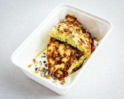 Chiftea rumenită de dovlecel/ Zucchini fritter  image