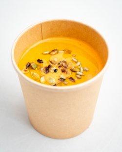 Supă cremă de ardei copt / Roasted pepper soup image