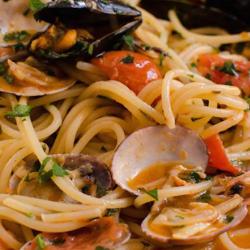 Spaghetti frutti di mare image
